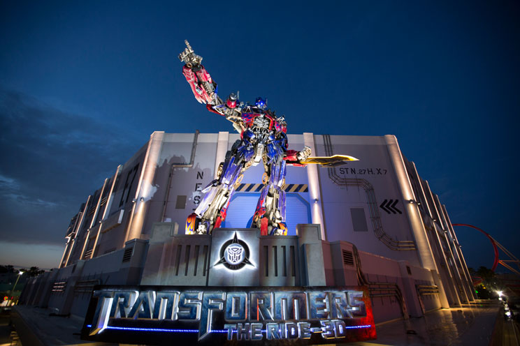Transformers The Ride 3D