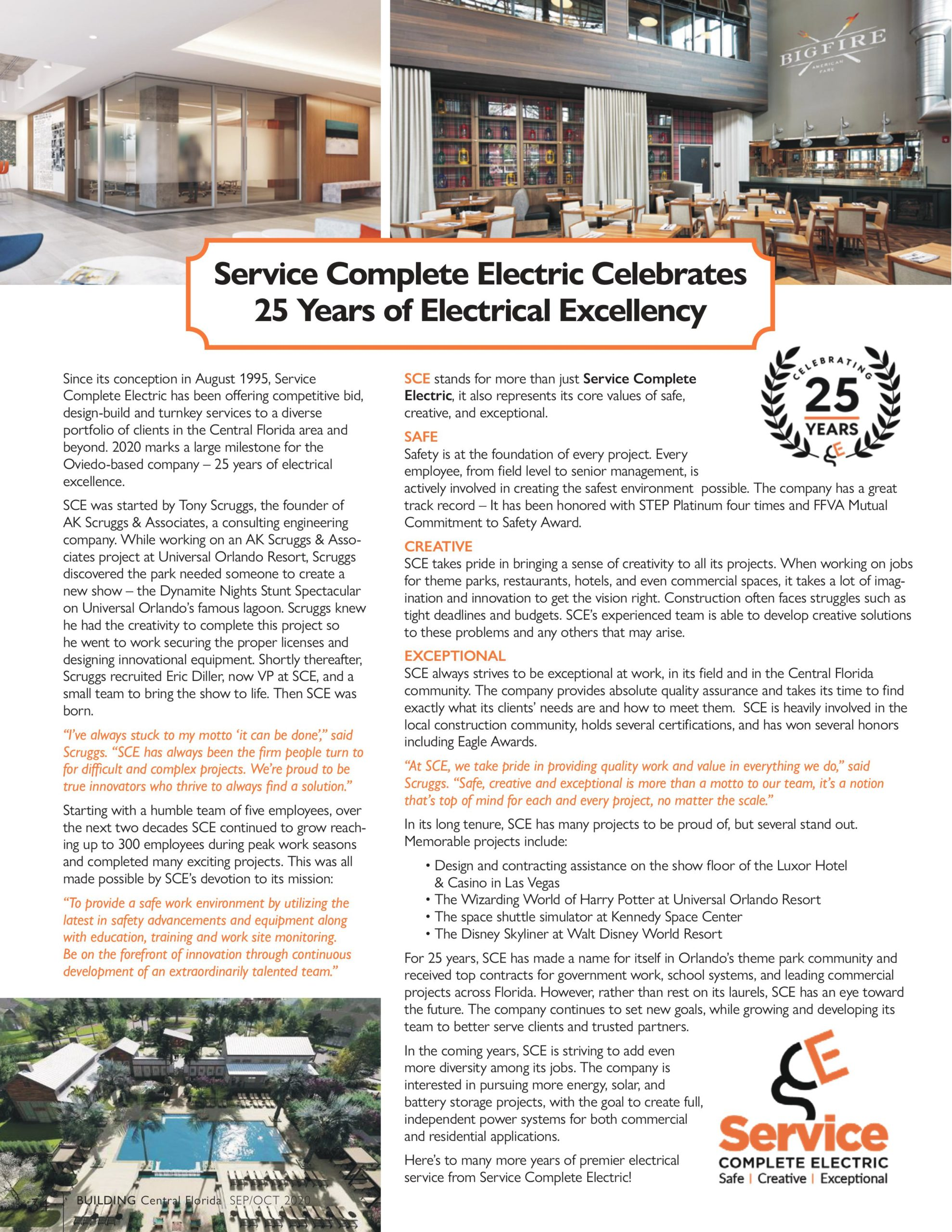 Service Complete Electric Building Central Florida article